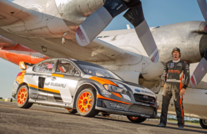 Subaru Rally Team USA Rallycross Bucky Lasek