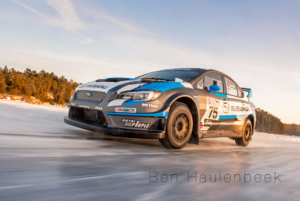 Subaru Rally Team USA #75 STI Frozen Lake Champlain Vermont