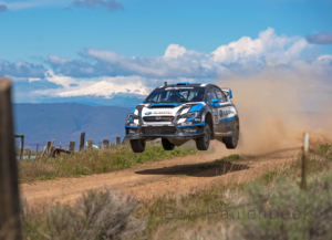 Subaru Rally Team USA Oregon Trail Rally SRTUSA #75 Jump